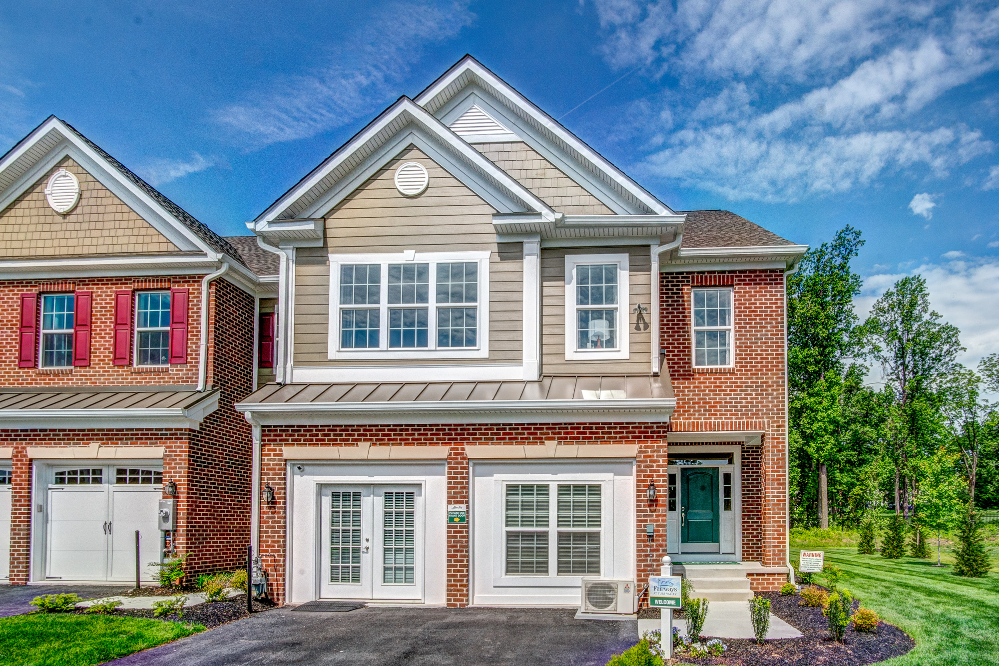 New Town Homes in Ellicott City, Maryland